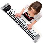 ハンドロールピアノ/電子ピアノ 【幅106cm】 スピーカー×4 リズムパターン100種類 音色×129種類 デモ曲×30 シリコンラバー製
