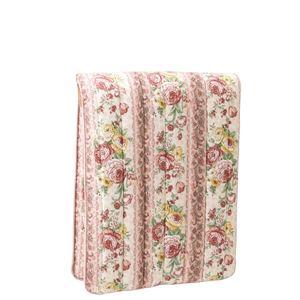 少し小さな軽量3層ボリューム敷布団 ピンク色の画像1