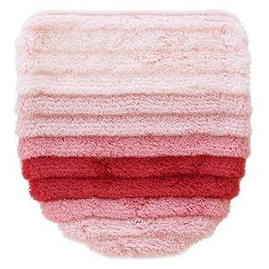 トイレフタカバー 【ピンク系】 全長約52cmまで対応 洗える ドレニモフタカバー 『フレッシュデオ 消臭トイレタリーシリーズ』