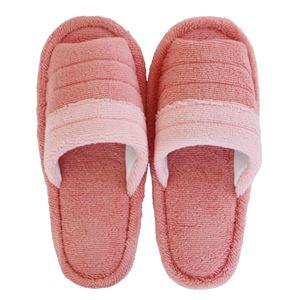 トイレスリッパ 【ピンク系】 消臭機能付き 洗える 綿100% 『フレッシュデオ 消臭トイレタリーシリーズ』 〔お手洗い〕