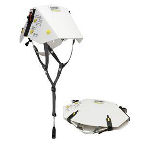 防災用折りたたみ式ヘルメット タタメットBCP - 拡大画像