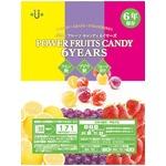 緊急時のお共に! パワーフルーツキャンディ 6YEARS (1箱20袋入)