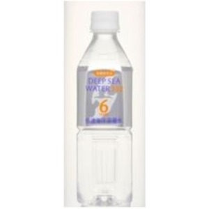 DEEP SEA WATER 6Years 6年保存水 500ml×24本入り