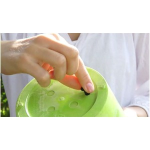 底面給水型 植木鉢/プランター 【ラウンド型 ブラック 直径37cm】 底栓付 『アートストーン』 〔園芸 ガーデニング用品〕
