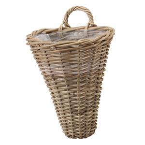 ラタンバスケット モンデリック ウォールバスケット 25cm