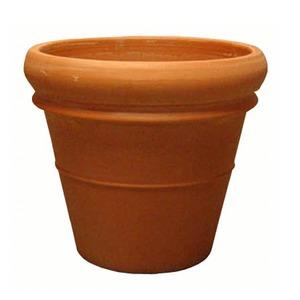 イタリア製テラコッタ鉢 リムポット 42cm /大型植木鉢