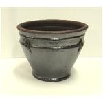 タイ製陶器鉢 クラフト PT102D S 23cm 2個入り /植木鉢