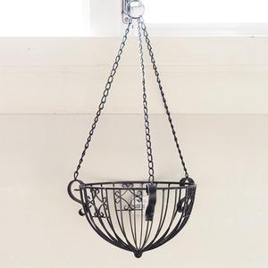 吊下げ型植木鉢用かご/ワイヤーハンギングバスケ...の関連商品4