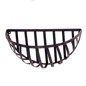 壁掛型ワイヤーバスケット/植木鉢 【単品/ココ...の関連商品1