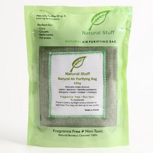 インテリア消臭剤 防臭剤 モウソウ竹炭 Natural Stuff 250g 〔ペット臭 たばこ臭〕