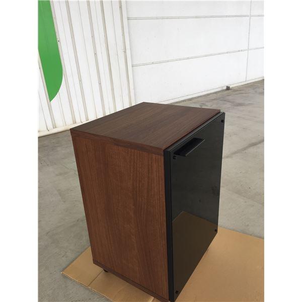 キャビネット ハザール 45cm ブラウン 【日本製】