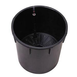 インナーポット (植木鉢/プランター用) 【ラウンド型 高さ49cm対応】 ウォーターゲージ付 『アートストーン・ヴォーグ用』