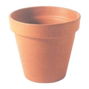 【16個入】イタリア製テラコッタ鉢(植木鉢/プランター) スタンダードポット φ15cm 〔ガーデニング用品/園芸〕