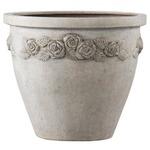 ファイバー製軽量植木鉢 アンティークローズライト ラウンド 46cm /植木鉢