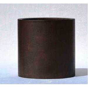 木目調樹脂製鉢カバー MOKU シリンダー 40cm