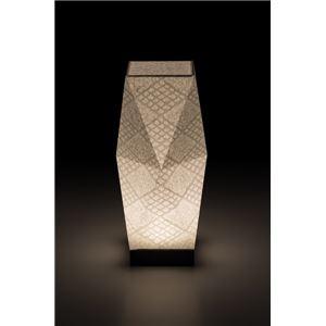 LEDコードレス 和室 モダン照明 SQ301スタンドライト手漉き和紙市松 【日本製】の詳細を見る