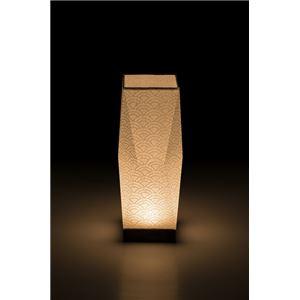 LEDコードレス 和室 モダン照明 SQ302スタンドライト青海波 【日本製】の詳細を見る