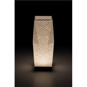LEDコードレス 和室 モダン照明 SQ302スタンドライト手漉き和紙市松 【日本製】の詳細を見る
