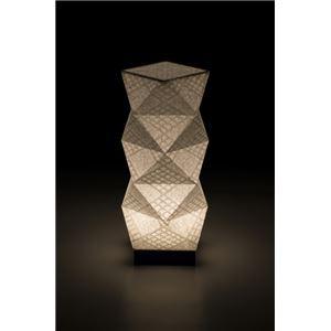LEDコードレス 和室 モダン照明 SQ303スタンドライト手漉き和紙市松 【日本製】の詳細を見る