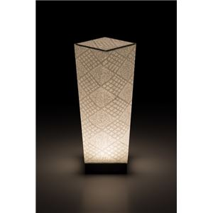 LEDコードレス 和室 モダン照明 SQ304スタンドライト手漉き和紙市松 【日本製】の詳細を見る