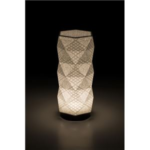 LEDコードレス 和室 モダン照明 HX300スタンドライト手漉き和紙市松 【日本製】の詳細を見る