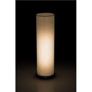 LED 和室 モダン照明 LF550-acスタンドライト糸入り和紙 【日本製】 - 拡大画像