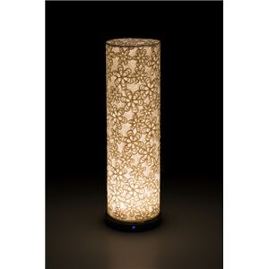 LED 和室 モダン照明 LF550-acスタンドライト立体花 【日本製】 - 拡大画像