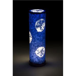 LED 和室 モダン照明 LF550-acスタンドライト藍染絞り 【日本製】の詳細を見る