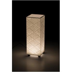 LED 和室 モダン照明 SQ300-acスタンドライトト手漉き和紙市松 【日本製】の詳細を見る