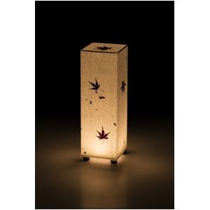 LED 和室 モダン照明 SQ300-acスタンドライトト手漉き和紙もみじ【日本製】の詳細を見る