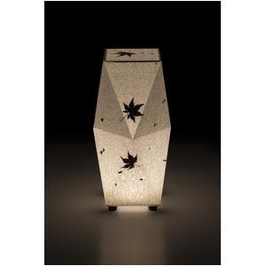 LED 和室 モダン照明 SQ301-acスタンドライト手漉き和紙もみじ 【日本製】の詳細を見る