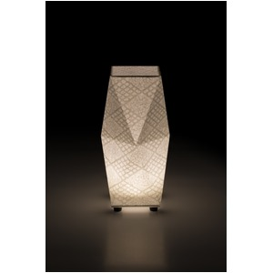LED 和室 モダン照明 SQ301-acスタンドライト手漉き和紙市松 【日本製】