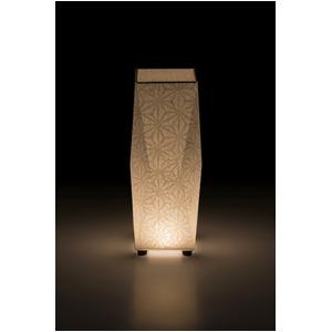 LED 和室 モダン照明 SQ302-acスタンドライト手漉き和紙麻葉 【日本製】の詳細を見る