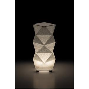 LED 和室 モダン照明 SQ303-acスタンドライト手漉き和紙麻葉【日本製】