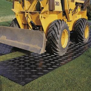 樹脂製敷板プラマット/養生マット 【910×1820×13mm】 HDPE(高密度ポリエチレン)100% 軽量