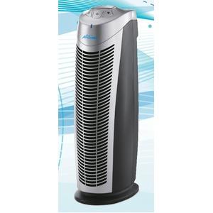 AirQuintet -エアクインテット-多機能高性能HEPAフィルター付空気清浄機(ブラック/シルバー)