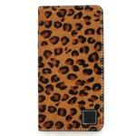 iPhone6 Plus/6s Plus ケース 手帳  本革 Wetherby・Premium Black iPhone6 Plus iPhone6s Plus レザー 本革 (Fur Leopard)
