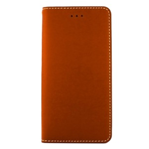 iPhone6 Plus/6s Plus ケース 手帳  本革 Wetherby・Basic iPhone6 Plus iPhone6s Plus レザー 本革 (Red Brown) - 拡大画像