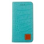 iPhone6 Plus/6s Plus ケース 手帳  本革 Wetherby・Premium Croco iPhone6 Plus iPhone6s Plus レザー 本革 (Emerald)