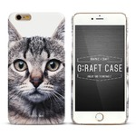 iPhone6  iPhone6S カバーDESIGNSKIN GRAFT FACE (CAT)