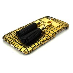 iPhone6  ケース カバー DESIGNSKIN Tassel Bartype for iPhone 6s  (Suqare Gold) f05