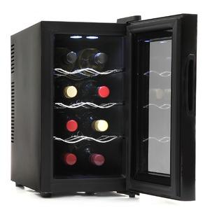 SunRuck 8本収納 ノンフロン電子式ワインセラー ワイン庫 SR-W208K