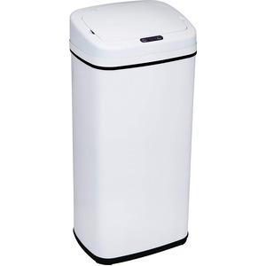 SunRuck 電動開閉式ゴミ箱 40L EA-ELT401-W ホワイト センサー式でおしゃれ