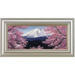 【Lee.Franklen】富士山と桜 WF3(546×220mm)
