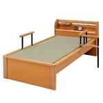 【本体別売】成2 畳ベッド用追加 手すり1本 【日本製】
