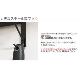 猫柄キッチンハンガー/調理器具掛け 【レンジフ...の紹介画像5