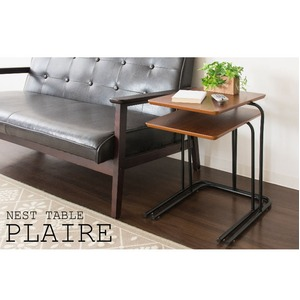 ネストテーブル サイドテーブル リビングテーブル ナイトテーブル ローテーブル 【2個セット】