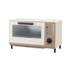 オーブントースター/キッチン家電【21×37×22cm】『CON・TE』