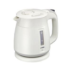 電気ケトル/湯沸かしポット【ホワイト】800ml省スチーム設計化粧箱入り自動スイッチOFF