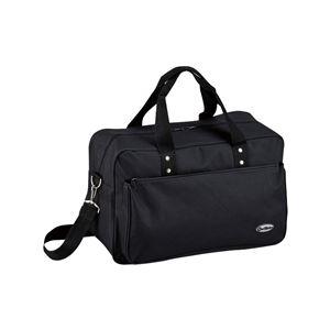 ボストンバッグ/旅行鞄【22cm×45.5cm×27cm】ポリエステル製ショルダーベルト製『アウトウォーク』